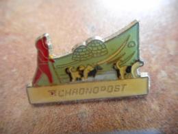 A040 -- Pin's Poste Chronopost Chien De Traineau - Postes