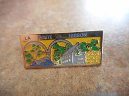 A040 -- Pin's Poste Hirson - Postes