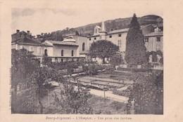 BOURG ARGENTAL         L HOSPICE . VUE PRISE DES JARDINS - Bourg Argental