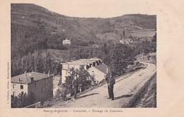 BOURG ARGENTAL        COTAVIOL.    TISSAGE DE SOIRIES - Bourg Argental