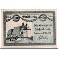 Billet, Autriche, Vocklabruck, 10 Heller, Paysage, 1920, 1920-03-17, SPL - Autriche