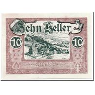Billet, Autriche, Wald Im Pinzgau, 10 Heller, Paysage, 1920, SPL, Mehl:1129 - Autriche