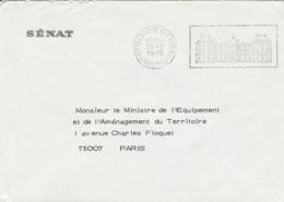 OBLIT. FLAMME PALAIS Du LUXEMBOURG 10.2.78 - Marcophilie (Lettres)