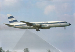 Lanica Lineas Aereas Nicaragua Convair 880 22 - 2 AN-BLW Aviation Airplane At MIA - 1946-....: Era Moderna