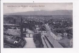 CP SERBIE Stadt Paracin Vom Kirchturm Aus Gesehen - Serbie