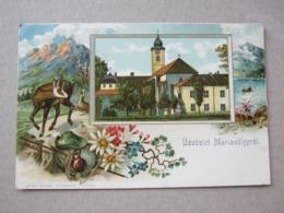 Slovakia ? / Udvozlet Mariavolgyrol 1910 ( Gruss Aus Mariathal ) - Slovakia