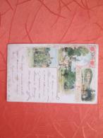 Cirey Carte Style Gruss  1899 - Cirey Sur Vezouze