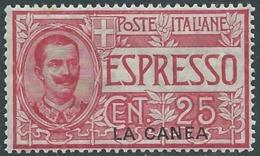 1906 LEVANTE LA CANEA ESPRESSO 25 CENT MNH ** - RB3-4 - 11. Oficina De Extranjeros