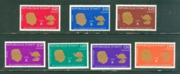 Haïti; Timbres Scott Stamps # 571-574 + C-282-C-284; Neufs, Trace De Charnière / Mint, Trace Of Hinge. (8119) - Haiti