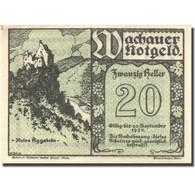 Billet, Autriche, Spitz An Der Donau, 20 Heller, Ruine, 1920, SPL Mehl:FS 1122 - Autriche