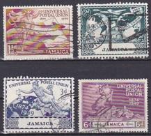 Jamaica/1949 - UPU 75th Anniv. - Set - USED - Jamaica (...-1961)