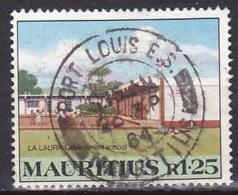 Mauritius/1983 - SG 675 - R 1.25 - USED/'PORT LOUIS E.S.' - Maurice (1968-...)