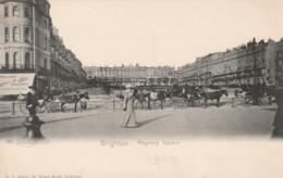 *** SUSSEX ***  BRIGHTON  Regency Square And Horses     - TTB Unused - Brighton
