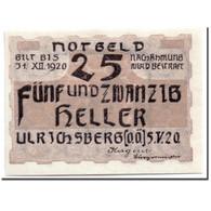 Billet, Autriche, Ulrichsberg, 25 Heller, Paysage, 1920, 1920-05-05, SPL - Autriche