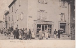 57 - MONTIGNY LES METZ - RUE DES LOGES - TRES ANIMEE - COMMERCE SIFFERMANN - Other Municipalities