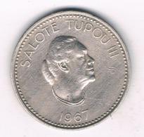 10 SENITI 1967 (mintage 300000ex) TONGA /6014/ - Tonga