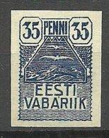 Estland Estonia 1919 Seagull Michel 10 MNH - Estland