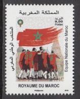 2018 Morocco Maroc National Football Team  Complete Set Of 1 MNH - Morocco (1956-...)