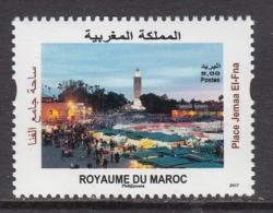 2017 Morocco Maroc Place Jemaa El FNA Complete Set Of 1 MNH - Morocco (1956-...)