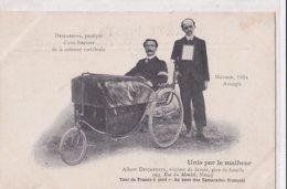 Desjardins Paralysé Mougin Aveugle Unis Par Le Malheur Tour De France à Pied - Weltkrieg 1914-18
