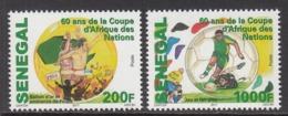 2017 Senegal Africa Cup Football Complete Set Of 2 MNH - Senegal (1960-...)