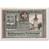 Billet, Autriche, Vocklabruck, 50 Heller, Paysage, 1920, 1920-03-17, SPL - Autriche