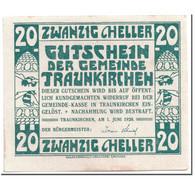 Billet, Autriche, Traunkirchen, 20 Heller, Château, 1920, 1920-06-01, SPL - Autriche