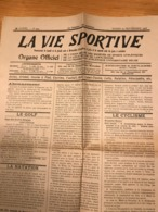 La Vie Sportive - Septembre 1906 (2 Feuillets, Bruxelles, Golf Cyclisme Publicité...) - Kranten