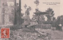 Scènes De La Vie Des Champs Par Rameau Fils BAVARDAGE (1913) - Landbouw