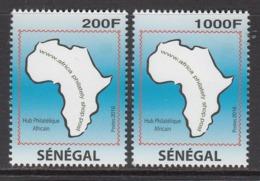2016 Senegal Philately Website Internet Complete Set Of 2 MNH - Senegal (1960-...)