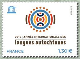 France 2019 - Année Internationale Des Langues Autochtones ** (UNESCO) - France