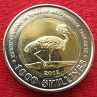 Uganda 1000 Shillings 2012 Independence Ouganda Oeganda - Oeganda