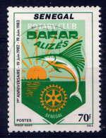 SENEGAL - 597° - ROTARY CLUB - Sénégal (1960-...)