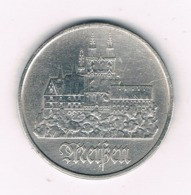 5 MARK 1972 A  DDR  DUITSLAND /6041/ - [ 6] 1949-1990 : GDR - German Dem. Rep.