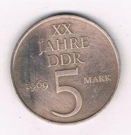 5 MARK 1969 A  DDR  DUITSLAND /6042/ - [ 6] 1949-1990 : GDR - German Dem. Rep.