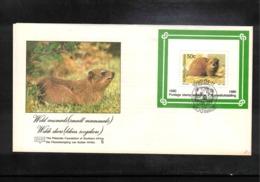 Bophuthatswana 1990 Small Mammals FDC - Nager