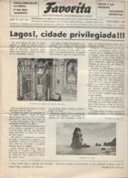 Lagos - Jornal Da Favorita De Novembro De 1954 - Chocolate E Biscoitos - Imprensa - Publicidade. Faro. - Koken & Wijn