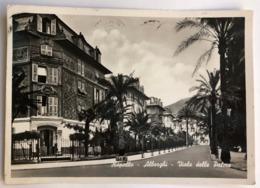 RAPALLO ALBERGHI VIALE DELLE PALME  1957 - Genova (Genoa)