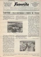 Tavira - Jornal Da Favorita De 1 De Fevereiro De 1955 - Chocolate E Biscoitos -  Imprensa - Publicidade. Faro. - Koken & Wijn