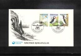 Faroe Islands 1978 Birds FDC - Albatros
