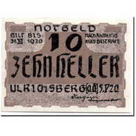 Billet, Autriche, Ulrichsberg, 10 Heller, Paysage, 1920, 1920-05-05, SPL - Autriche