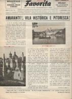 Amarante - Jornal Da Favorita De 1 De Dezembro De 1954 - Chocolate E Biscoitos -  Imprensa - Publicidade. Porto. - Koken & Wijn