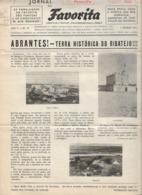 Abrantes - Jornal Da Favorita De 1 De Dezembro De 1954 - Chocolate E Biscoitos -  Imprensa - Publicidade. Santarém. - Koken & Wijn