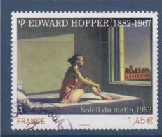 = Edward Hopper, Peintre Et Graveur Américain, Soleil Du Matin N° 4633 Oblitéré - Frankreich