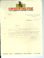 Lettre De L'Indépendance Belge, Carte Récépissé, Trois Reçus Bruxelles 1931 (à Mme Louis De Weissenbruch) - Printing & Stationeries