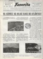 Açores - Ponta Delgada - Angra Do Heroísmo - Jornal Da Favorita De 1 De Outubro De 1955 - Pesca Da Baleia  - Whale - Koken & Wijn