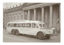 CARTOLINA AUTOBUS HENSCHEL - 4 - Bus & Autocars