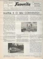 Mafra - Jornal Da Favorita De 1 De Fevereiro De 1956 - Chocolate E Biscoitos - Imprensa - Publicidade - Koken & Wijn