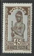HAUTE VOLTA 1928 YT 53** - MNH - Obervolta (1920-1932)