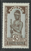 HAUTE VOLTA 1928 YT 53** - MNH - Unused Stamps